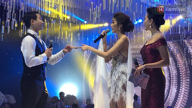 Clip Lan Khuê và John Tuấn Nguyễn khiêu vũ sexy khuấy động đám cưới - Ảnh 3.
