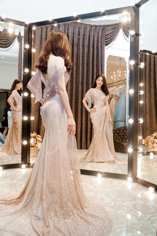 Á hậu Phương Nga gấp rút chuẩn bị trước khi lên đường chinh chiến tại Miss Grand International 2018 - Ảnh 2.