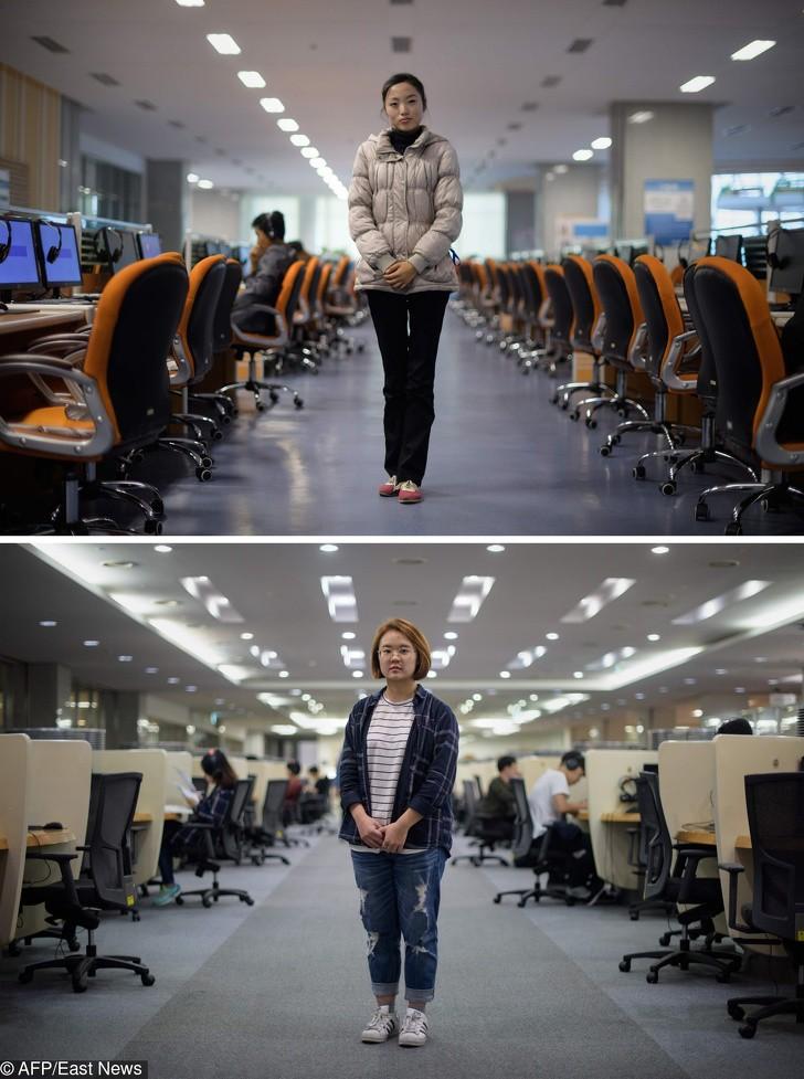 Cùng 1 kiểu ảnh, nhiếp ảnh gia này quyết định đến chụp ở cả Triều Tiên lẫn Hàn Quốc - kết quả thật đáng kinh ngạc - Ảnh 25.