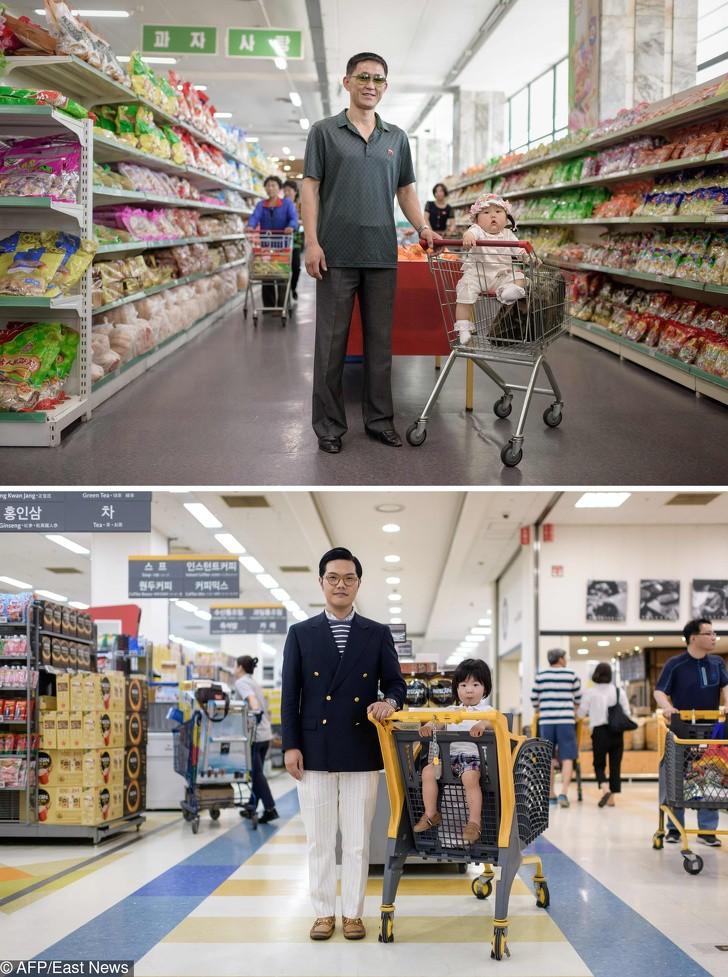 Cùng 1 kiểu ảnh, nhiếp ảnh gia này quyết định đến chụp ở cả Triều Tiên lẫn Hàn Quốc - kết quả thật đáng kinh ngạc - Ảnh 15.