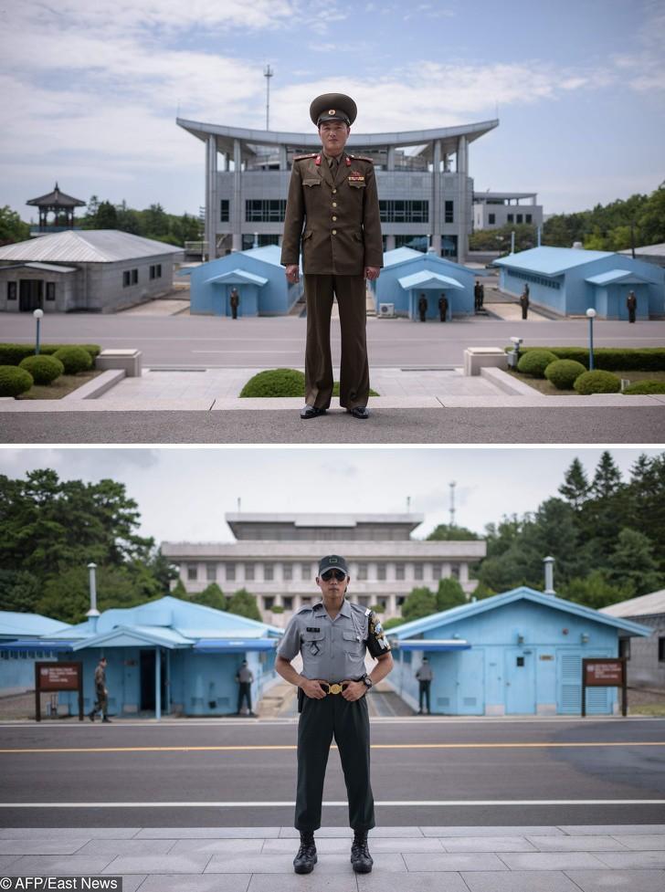 Cùng 1 kiểu ảnh, nhiếp ảnh gia này quyết định đến chụp ở cả Triều Tiên lẫn Hàn Quốc - kết quả thật đáng kinh ngạc - Ảnh 13.