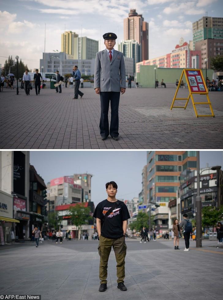 Cùng 1 kiểu ảnh, nhiếp ảnh gia này quyết định đến chụp ở cả Triều Tiên lẫn Hàn Quốc - kết quả thật đáng kinh ngạc - Ảnh 11.