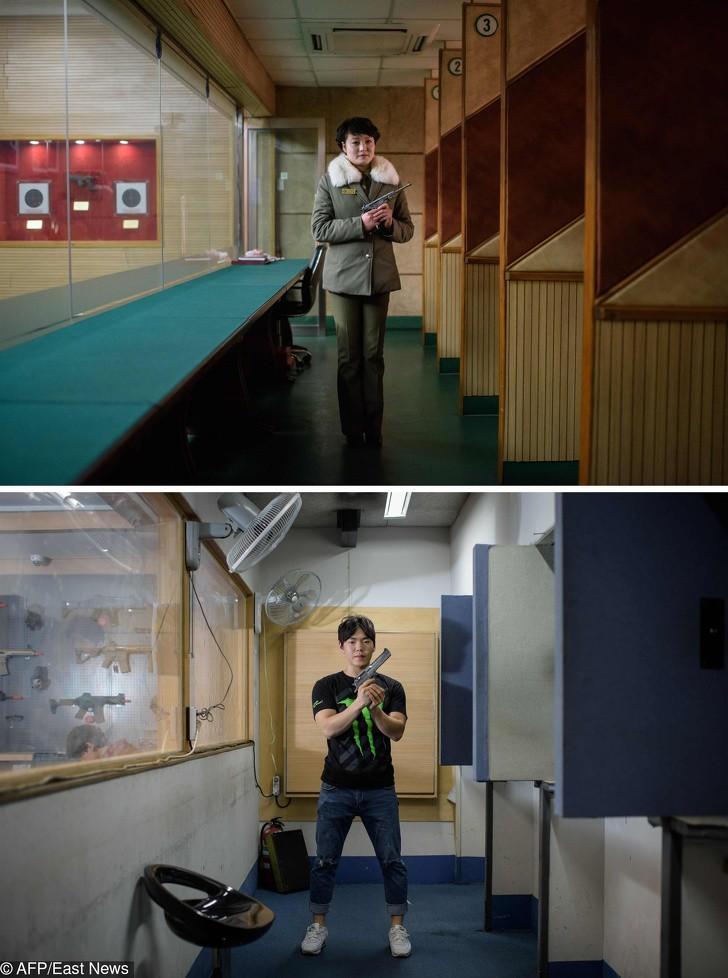 Cùng 1 kiểu ảnh, nhiếp ảnh gia này quyết định đến chụp ở cả Triều Tiên lẫn Hàn Quốc - kết quả thật đáng kinh ngạc - Ảnh 1.