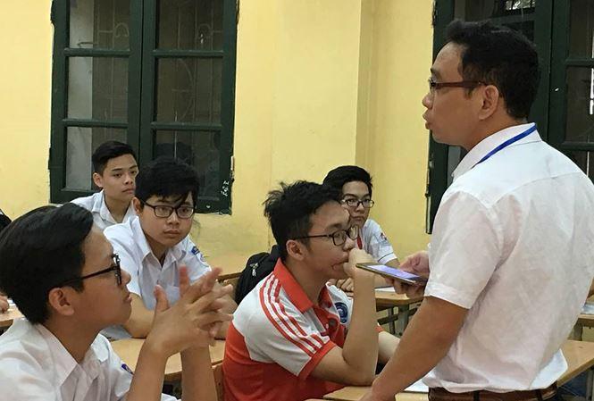 Hà Nội chốt phương án tuyển sinh vào lớp 10 - Ảnh 1.