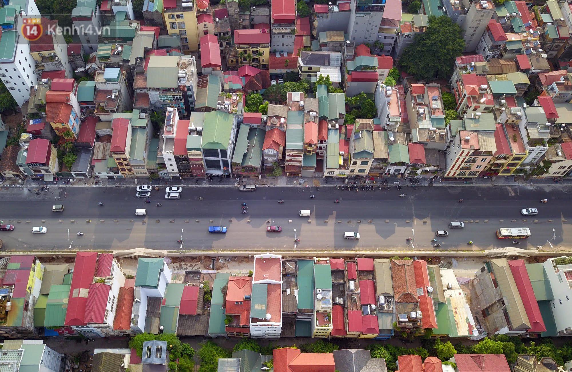 Clip, ảnh: Cận cảnh cầu vượt hơn 300 tỷ ở nút giao An Dương - Nghi Tàm trước ngày thông xe - Ảnh 3.
