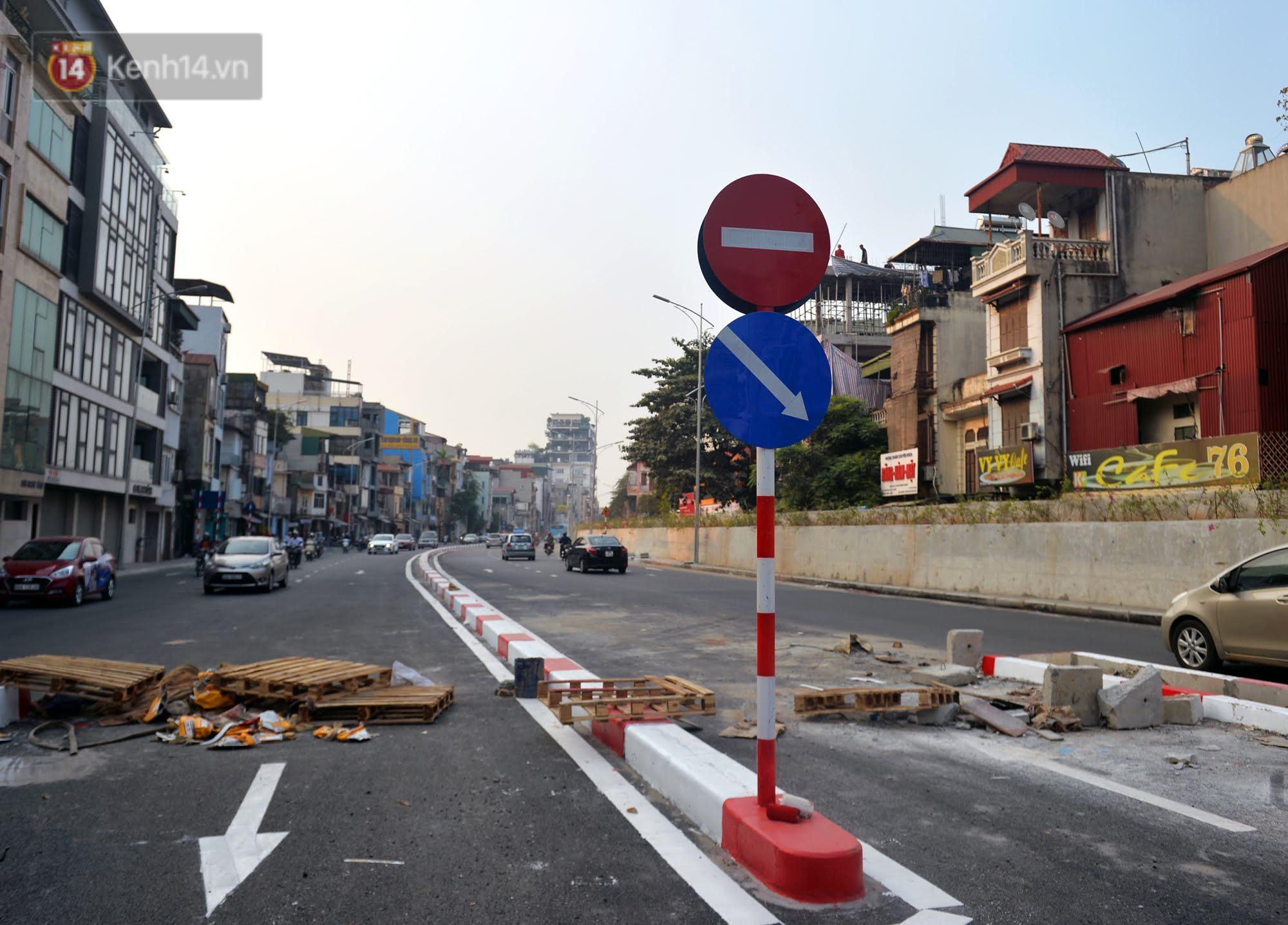 Clip, ảnh: Cận cảnh cầu vượt hơn 300 tỷ ở nút giao An Dương - Nghi Tàm trước ngày thông xe - Ảnh 7.