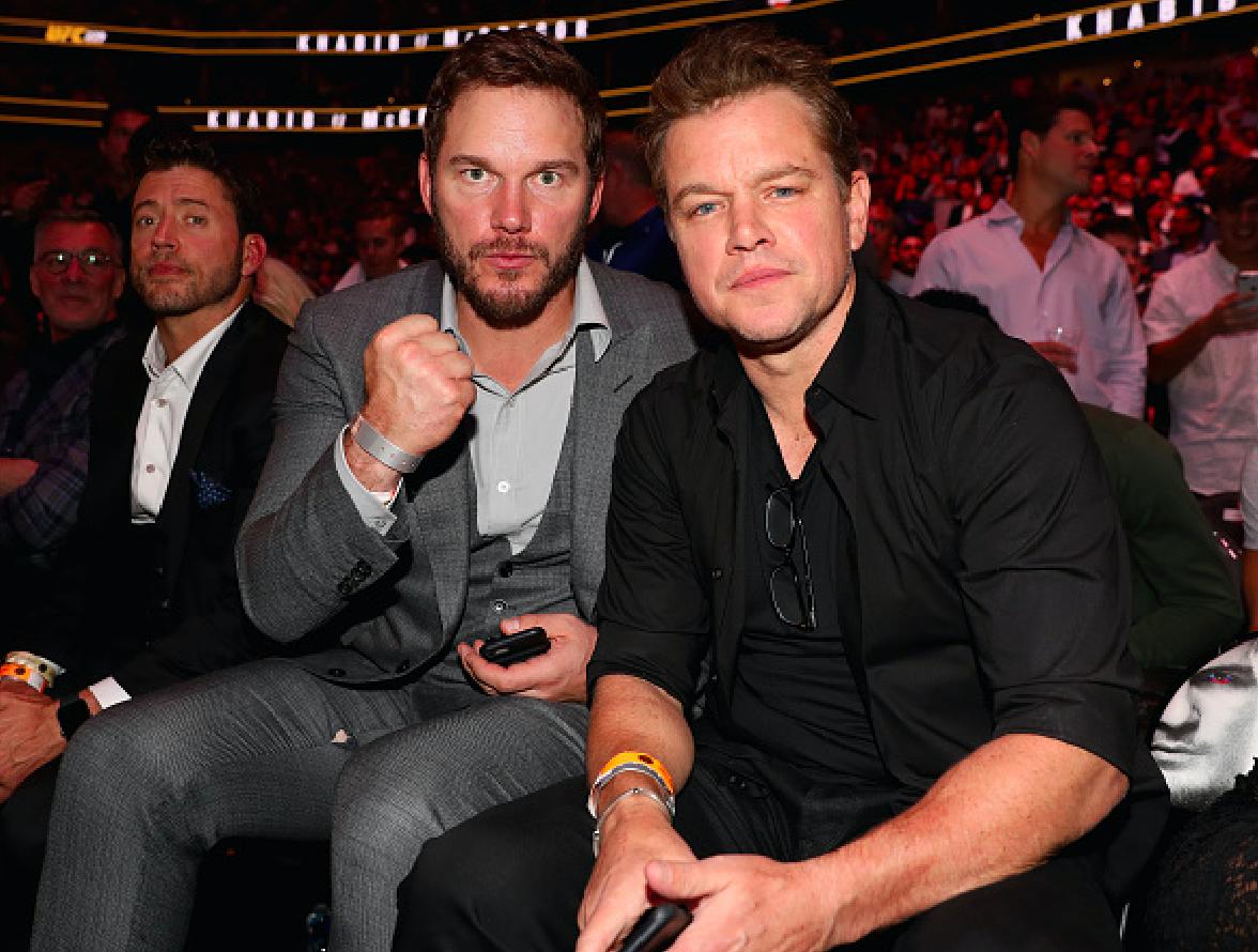 Thánh phá game Star-Lord cùng dàn sao Hollywood tới xem trận MMA lớn nhất lịch sử - Ảnh 6.
