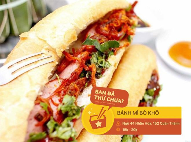 Ai mà nghĩ có ngày những món ăn vặt quen thuộc ở Hà Nội lại trở thành phần nhân độc lạ trong chiếc bánh mì - Ảnh 5.