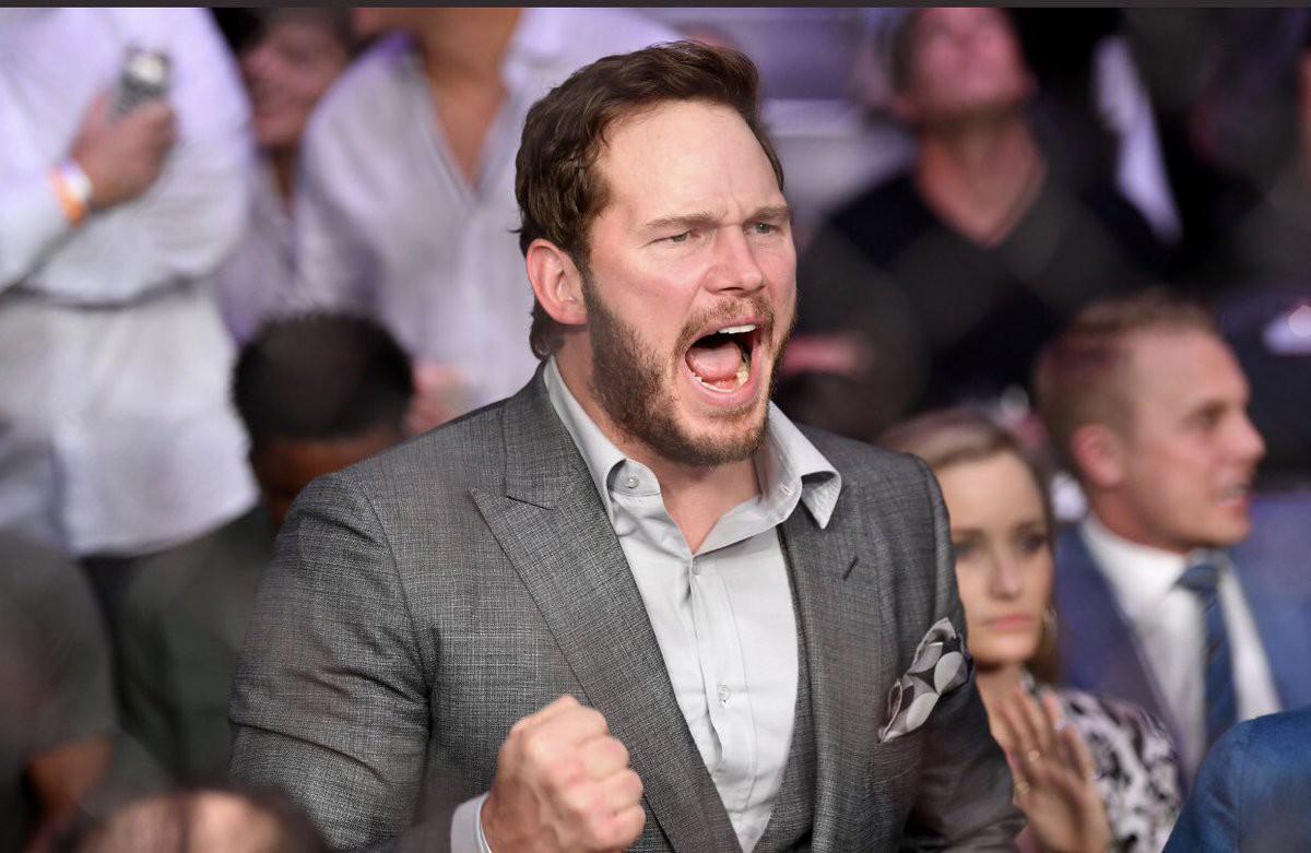 Thánh phá game Star-Lord cùng dàn sao Hollywood tới xem trận MMA lớn nhất lịch sử - Ảnh 4.