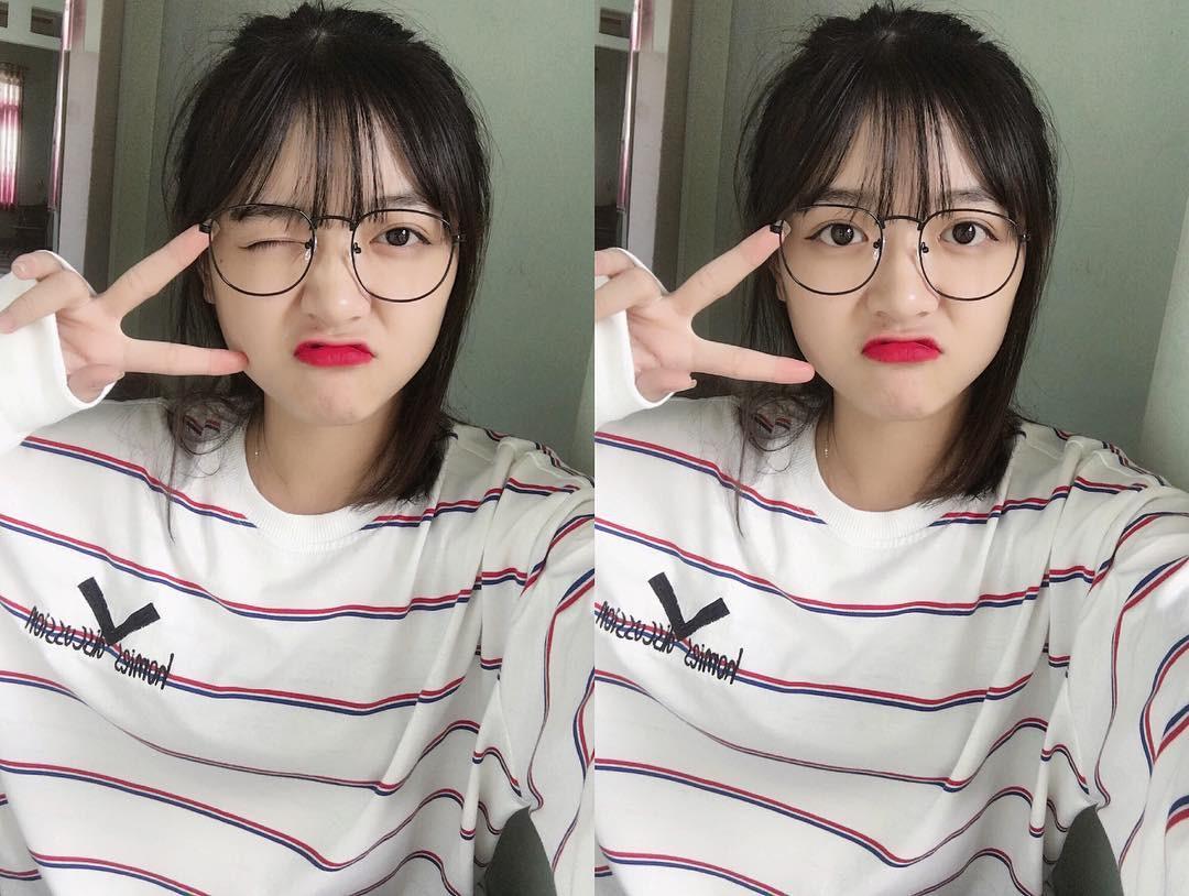 Cô bạn Lào Cai sinh năm 2001 sở hữu loạt biểu cảm không yêu không được trên TikTok - Ảnh 2.