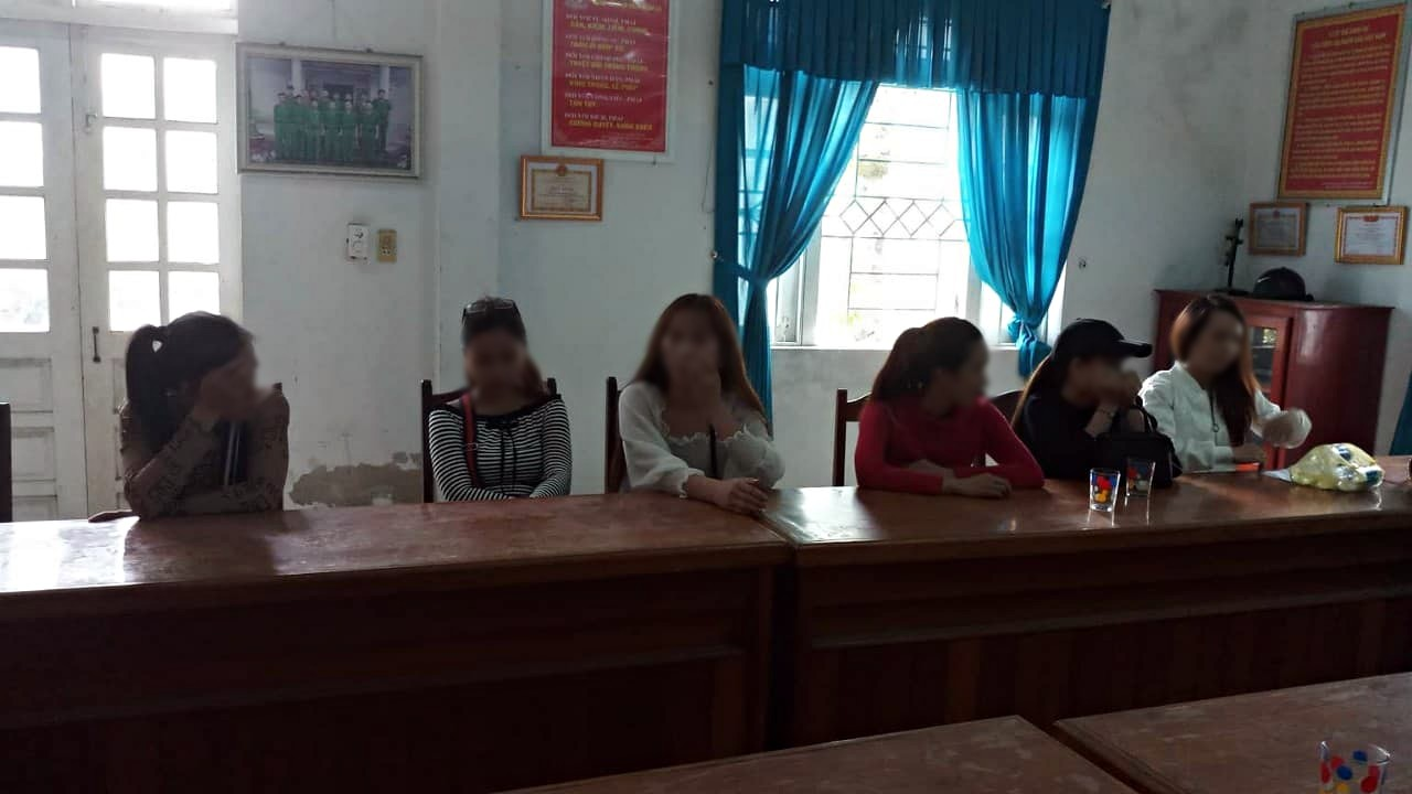 25 dân chơi phê thuốc trong quán karaoke ở Đà Nẵng 2