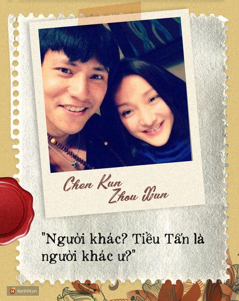 """Trần Khôn – Châu Tấn: Đâu chỉ tình yêu mới có thể hứa hẹn """"đầu bạc răng long""""? - Ảnh 6."""