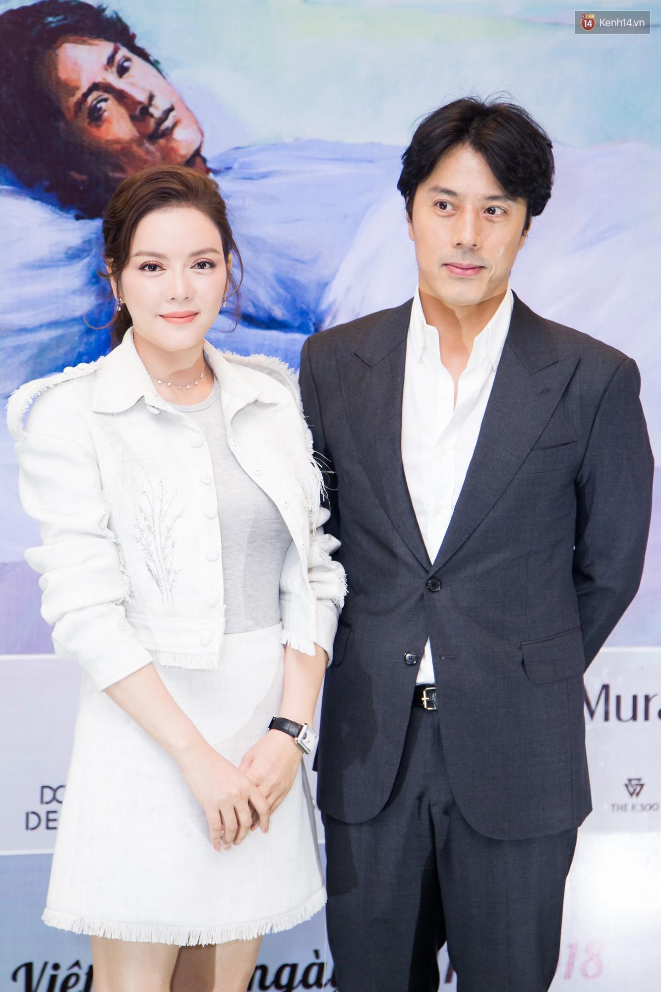 Tài tử Giày Thủy Tinh Han Jae Suk mặt lạnh như tiền ở buổi công bố dự án hợp tác cùng Lý Nhã Kỳ - Ảnh 1.