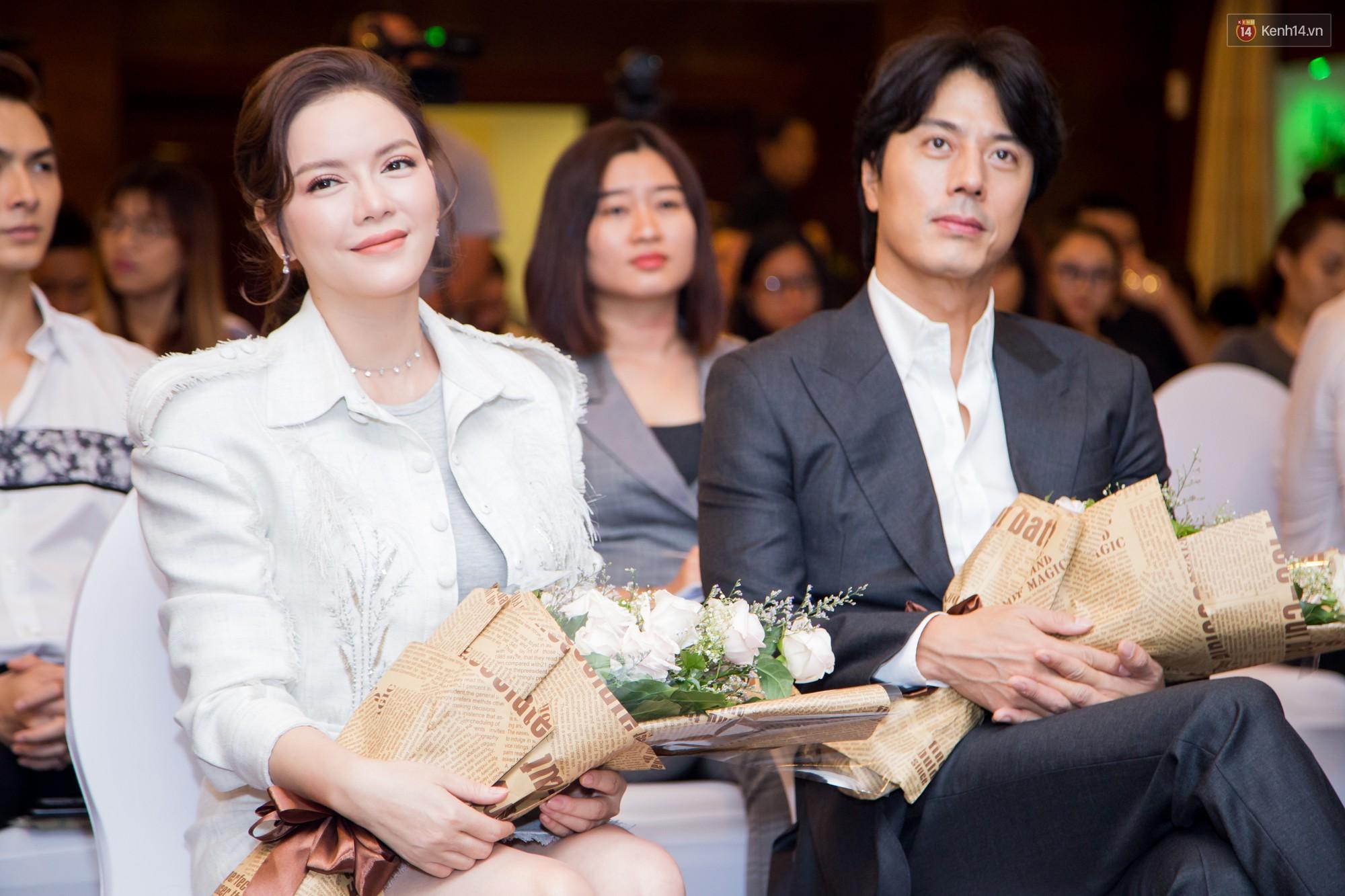 Tài tử Giày Thủy Tinh Han Jae Suk mặt lạnh như tiền ở buổi công bố dự án hợp tác cùng Lý Nhã Kỳ - Ảnh 3.