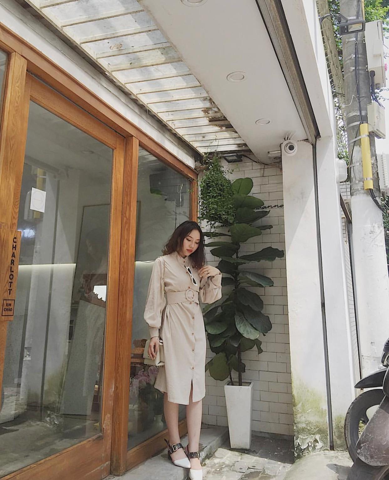 Ngoài quán cà phê, giới trẻ Việt Nam giờ còn ùn ùn đến các shop quần áo để chụp ảnh - Ảnh 16.
