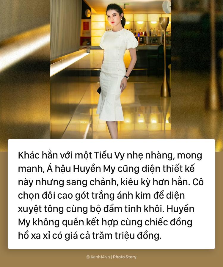 Hoa hậu Tiểu Vy và những pha đụng hàng với cả showbiz Việt - Ảnh 11.
