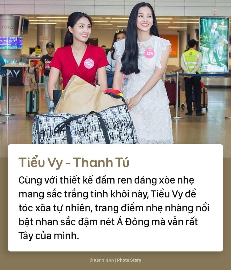 Hoa hậu Tiểu Vy và những pha đụng hàng với cả showbiz Việt - Ảnh 15.