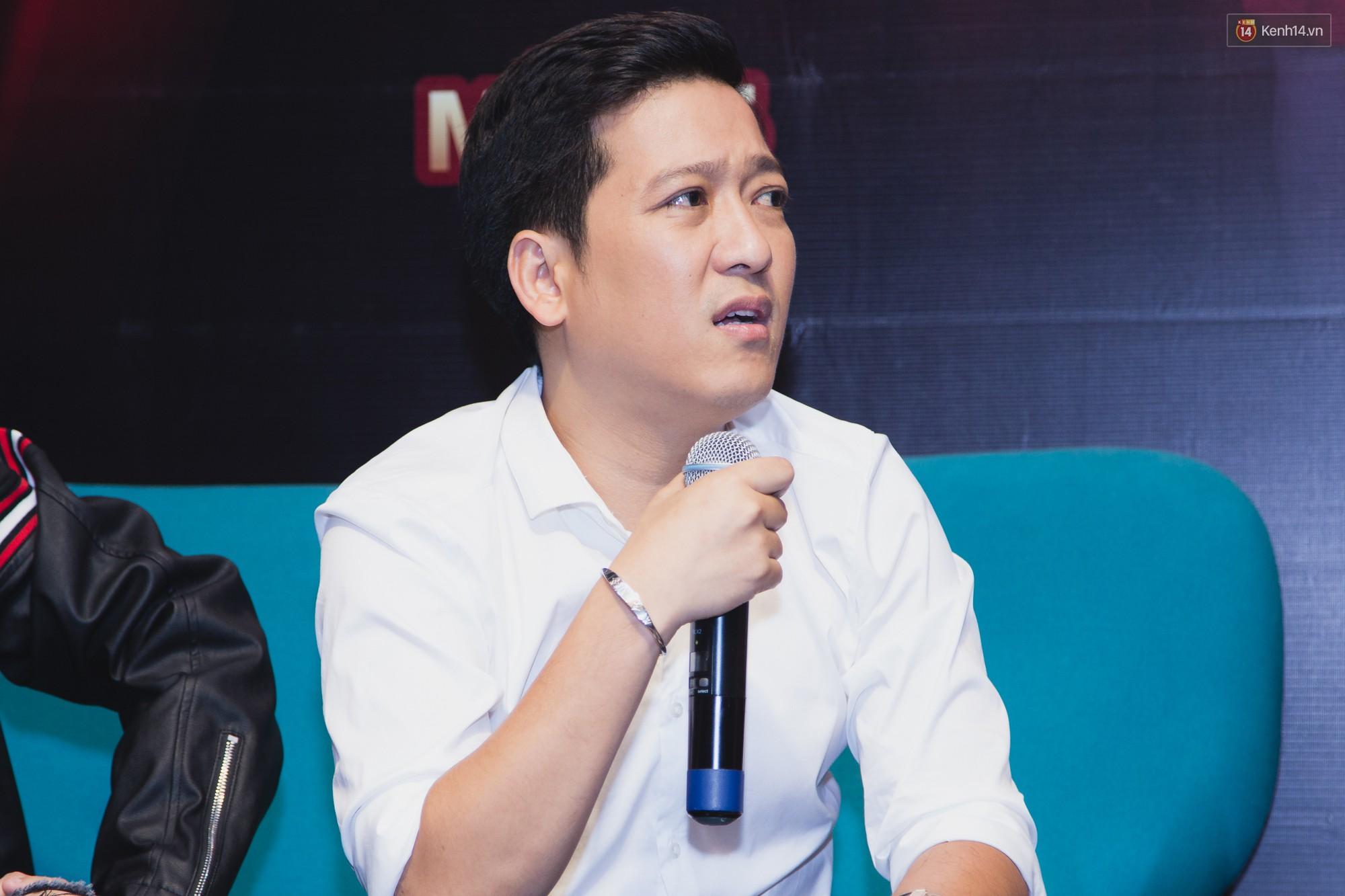 Trường Giang, Ngô Kiến Huy né những câu hỏi về tình cảm trong họp báo Thách thức danh hài - Ảnh 2.