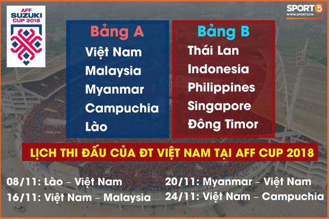 Cầu thủ U23 áp đảo ở danh sách tuyển Việt Nam chuẩn bị cho AFF Cup 2018 - Ảnh 3.