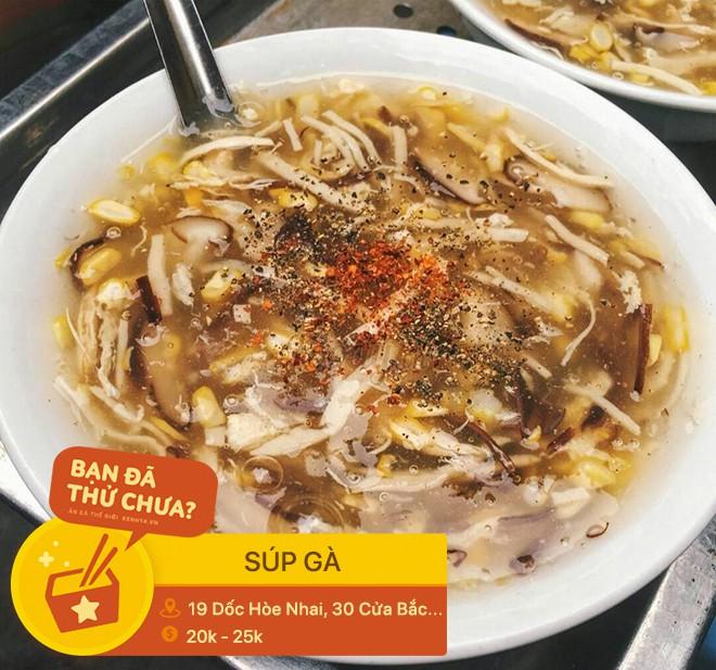 Hà Nội đêm nay trở lạnh rồi, ghi nhớ ngay địa chỉ 3 món súp nóng hổi này mà rủ bạn bè đi đánh chén thôi - Ảnh 6.