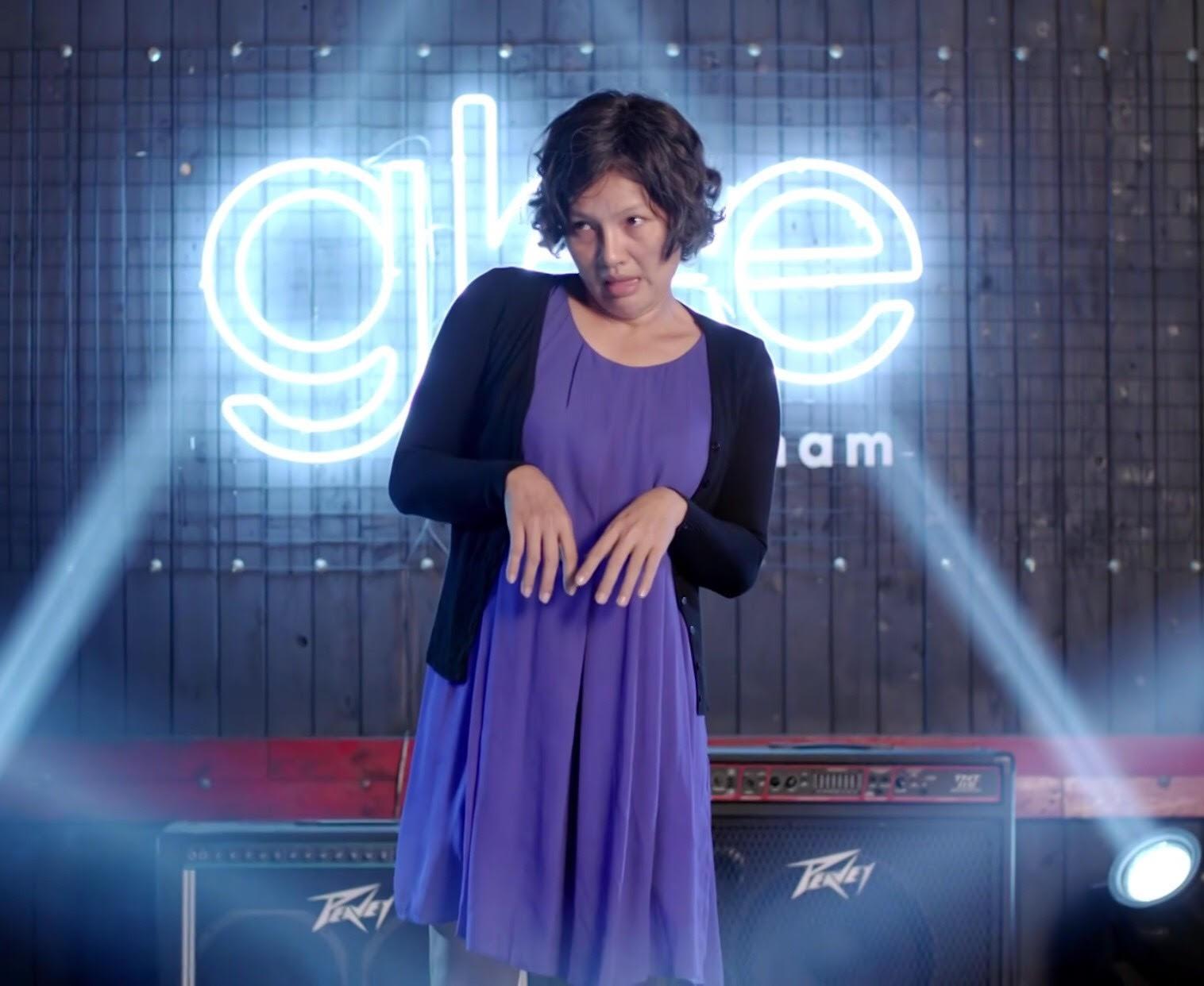 Glee Việt tập áp cuối: Để ủng hộ tinh thần Angela, toàn bộ nữ sinh của Glee đồng loạt mang bầu! - Ảnh 11.