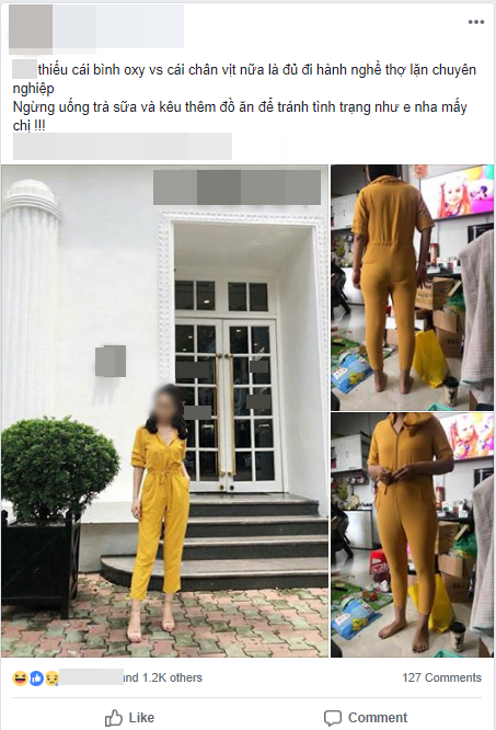Đặt mua bộ jumpsuit vàng sang chảnh trên mạng, cô gái kêu trời vì mặc thử chẳng khác gì bộ đồ thợ lặn - Ảnh 1.