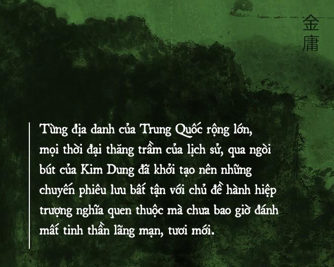 Di sản đồ sộ của Kim Dung: Chương hồi bất tận và những cuộc hành trình đi tìm chân - thiện - mỹ - Ảnh 6.