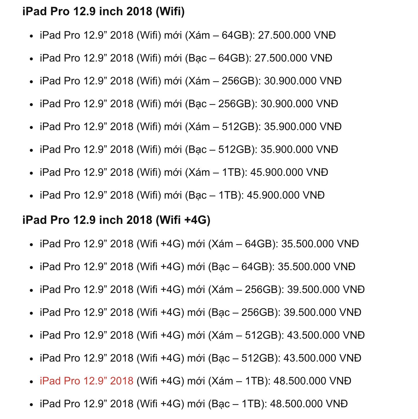 Công bố giá Ipad mới tại VN: Bằng giá một chuyến đi Châu Âu ểnh ương cơ đấy! - Ảnh 1.