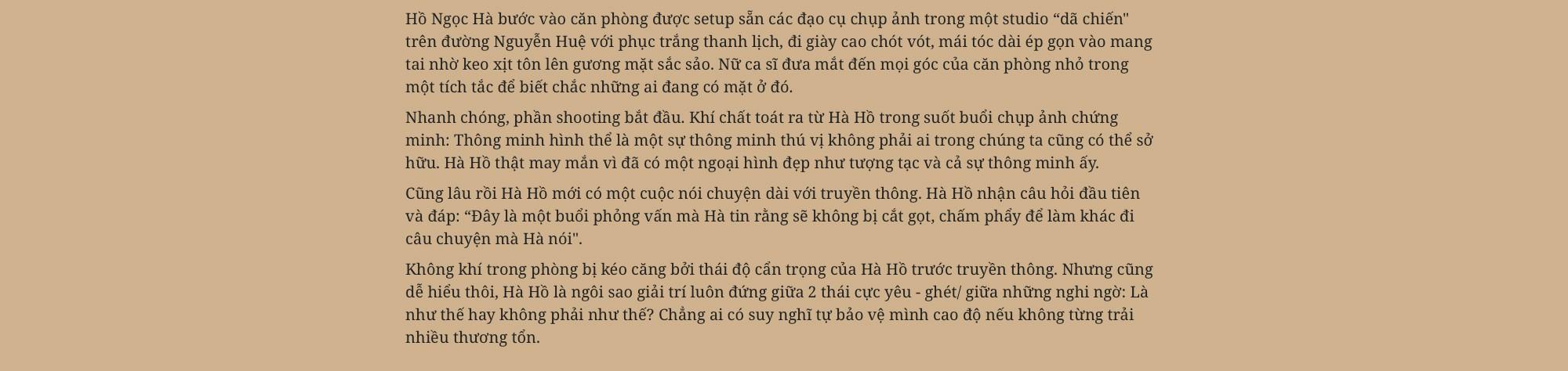 Hồ Ngọc Hà: Không bao giờ làm điều gì để những người phụ nữ khác phải đau lòng giống như lời đồn - Ảnh 2.