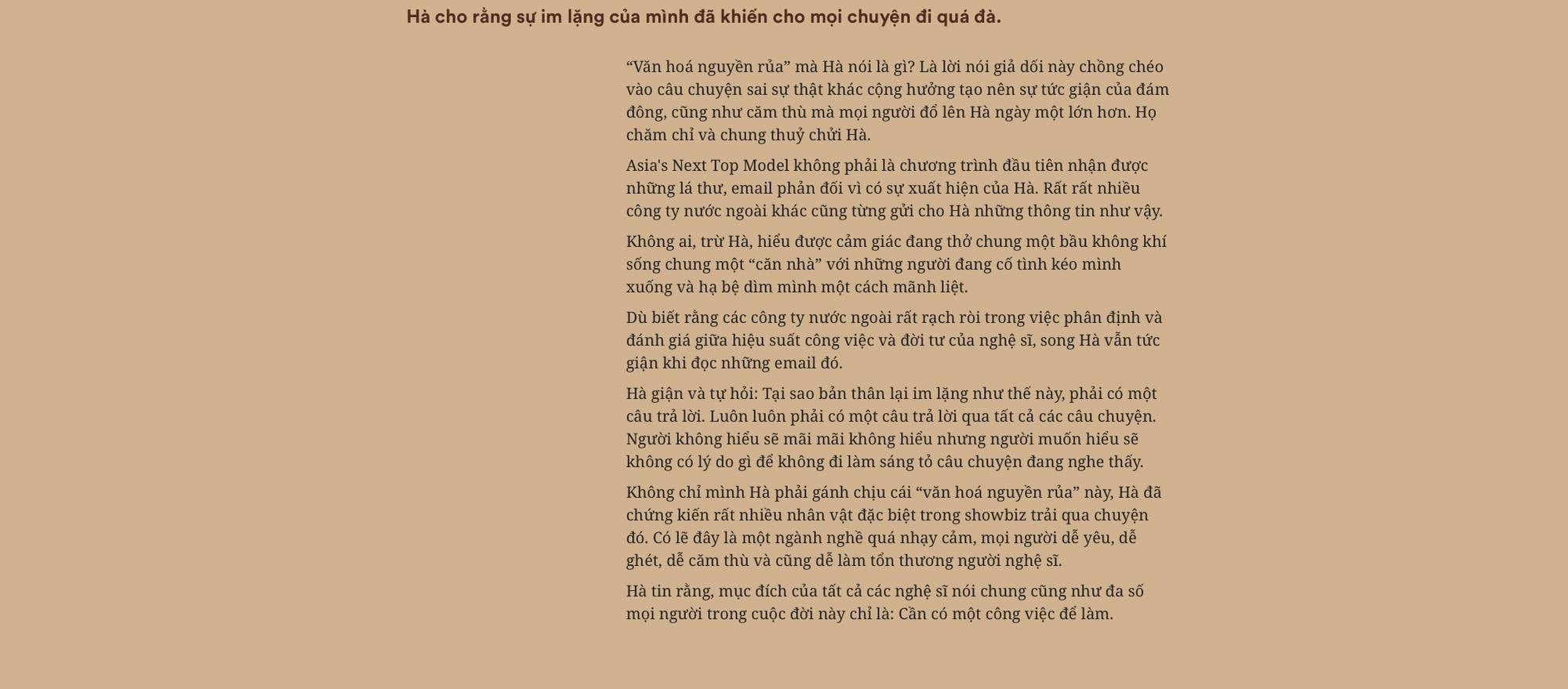 Hồ Ngọc Hà: Không bao giờ làm điều gì để những người phụ nữ khác phải đau lòng giống như lời đồn - Ảnh 5.