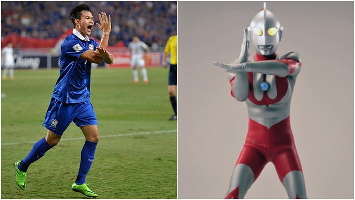 Amazingly, the Thai striker scored six goals in one match and nearly broke the AFF Cup record.