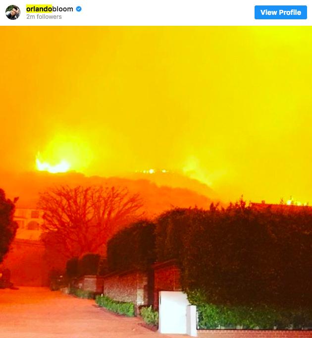 Nhà bố Kendall bị thiêu rụi, Lady Gaga và loạt sao khác tiếp tục sơ tán vì đám cháy lớn ở California - Ảnh 4.