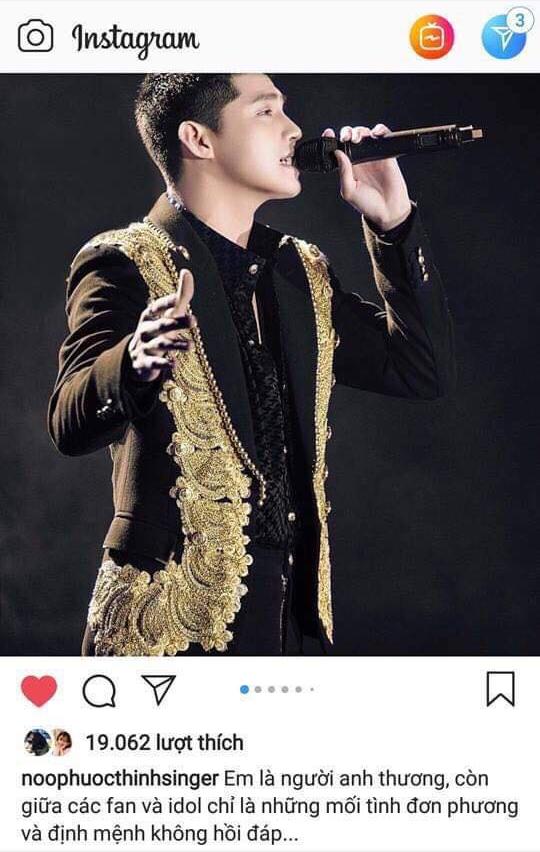 Noo Phước Thịnh đăng đàn bức xúc khi bị giả mạo tài khoản Instagram - Ảnh 1.