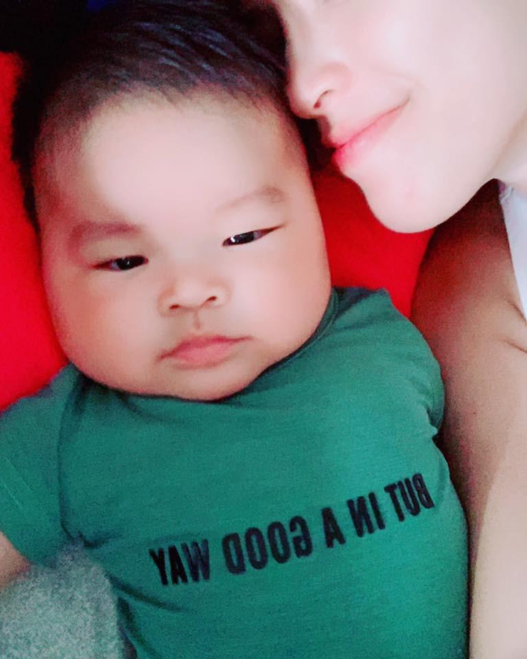 Vừa sinh con được 3 tháng, Hải Băng chấp nhận đối mặt rủi ro cao khi tiếp tục mang thai - Ảnh 3.