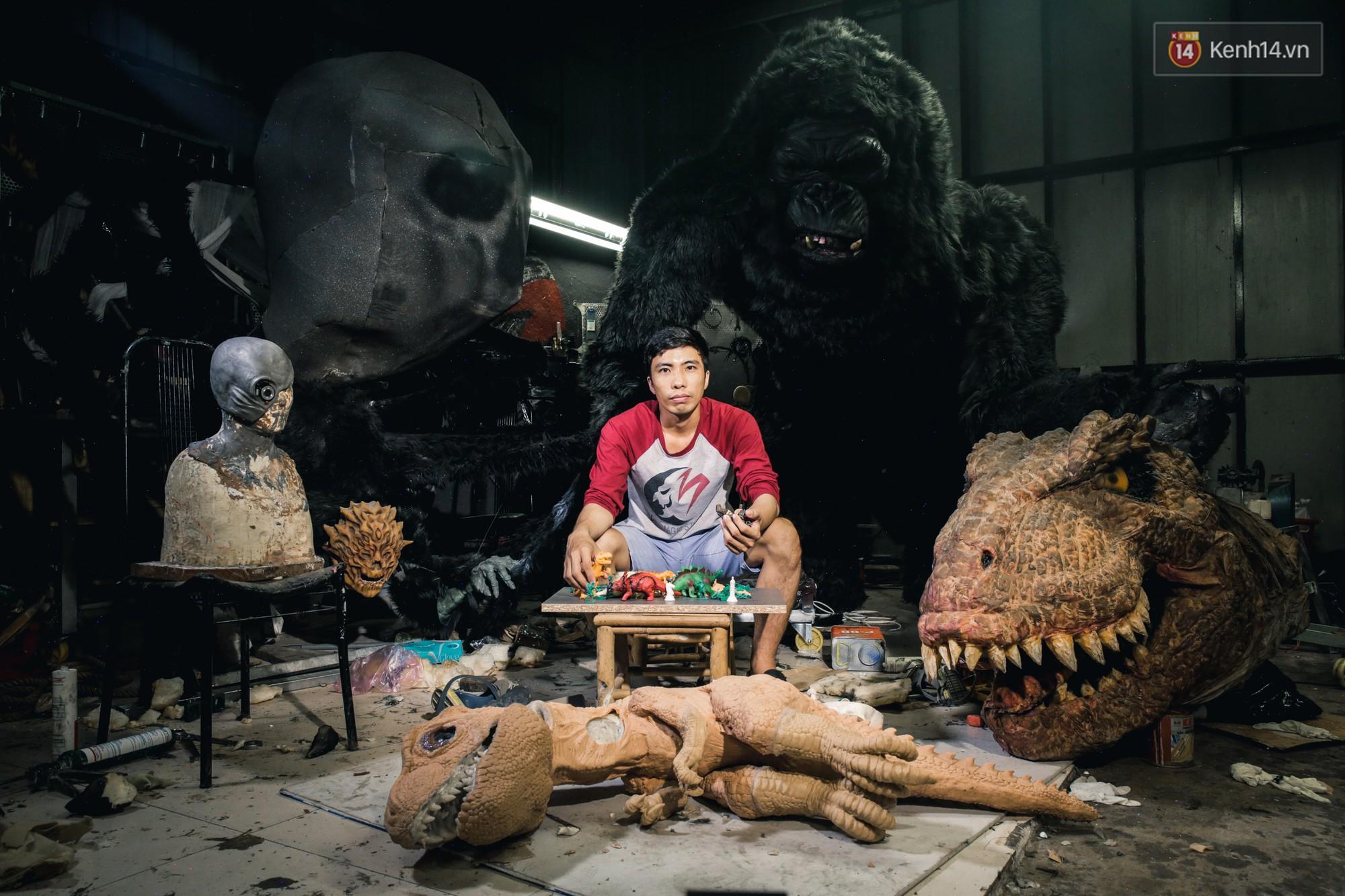 Vi Ngọc Tài - gã lập dị bất chấp căn bệnh ung thư để bỏ việc về quê làm mô hình quái thú - Ảnh 2.