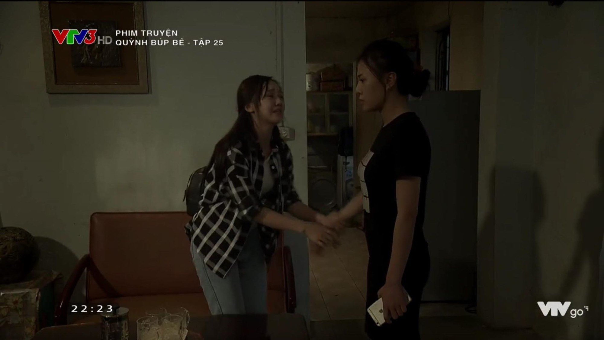 Oanh and Quynh Kool invite each other in the 25th episode of Quynh Bup Bac - Picture 6.