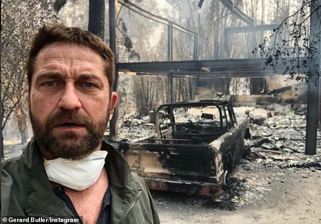 Vụ cháy ở California khiến nhiều sao Hollywood sốc nặng - Ảnh 1.