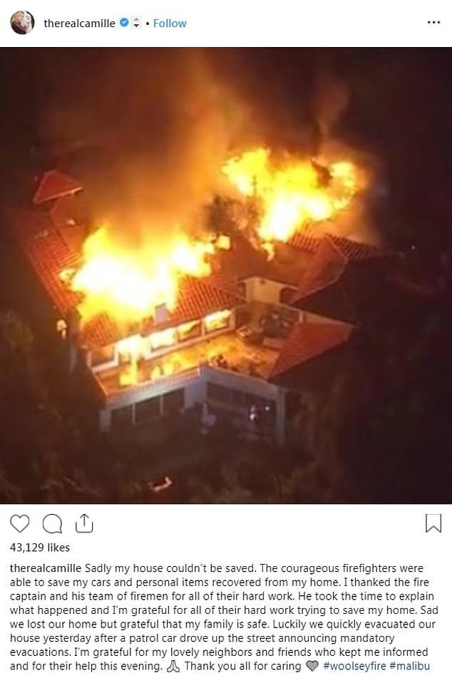 Vụ cháy ở California khiến nhiều sao Hollywood sốc nặng- Ảnh 8.