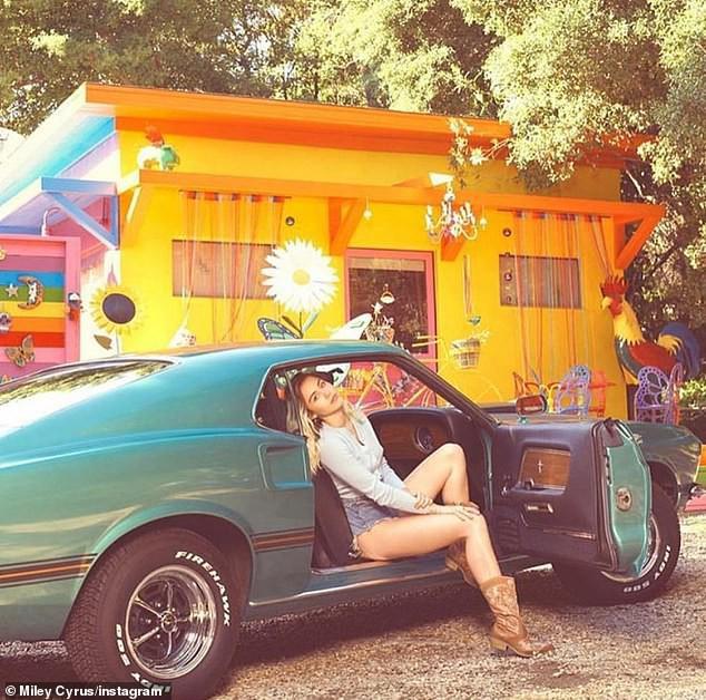 Miley Cyrus cũng mất nhà trong vụ cháy rừng ở California - Ảnh 3.