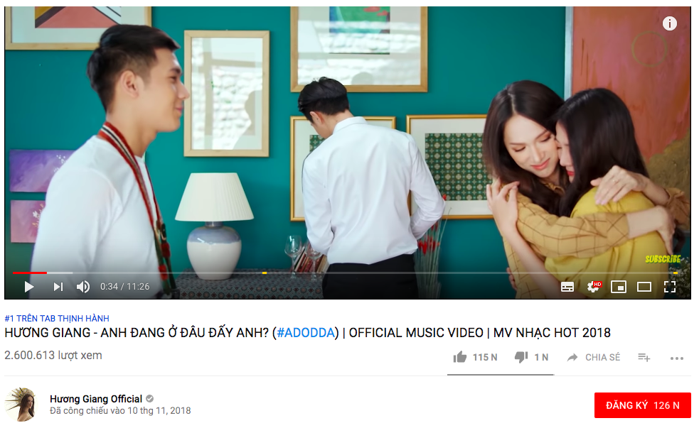 2 million views after debut, No.1 Top Trending Ioutube, what made Huong Giang the new MV attractive? - Figure 2.