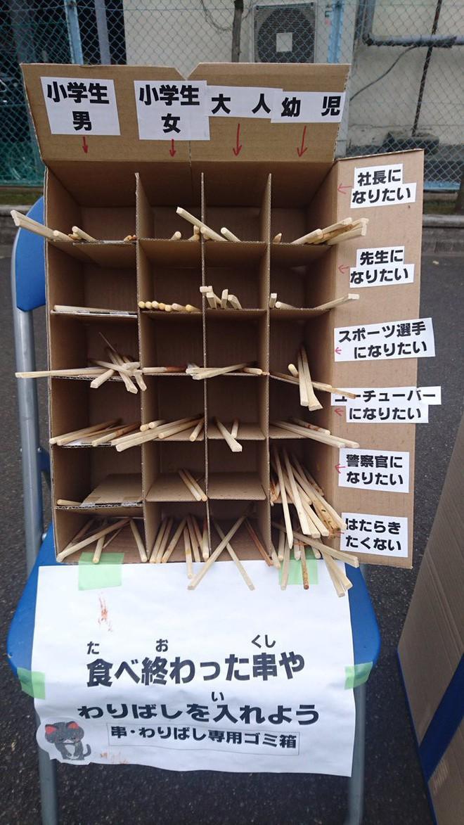 Trường tiểu học Nhật Bản mượn ước mơ của học sinh để phân loại đũa bẩn như thế nào?