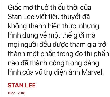 Stan Lee: Vĩnh biệt, huyền thoại của những huyền thoại - Ảnh 12.