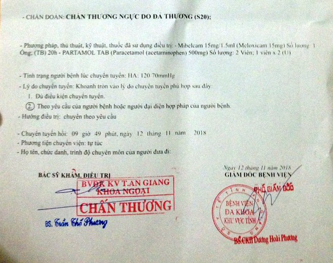What can the Can Tho Police say about the case of the director of Saigon arrested, beaten up? - Photo 2.