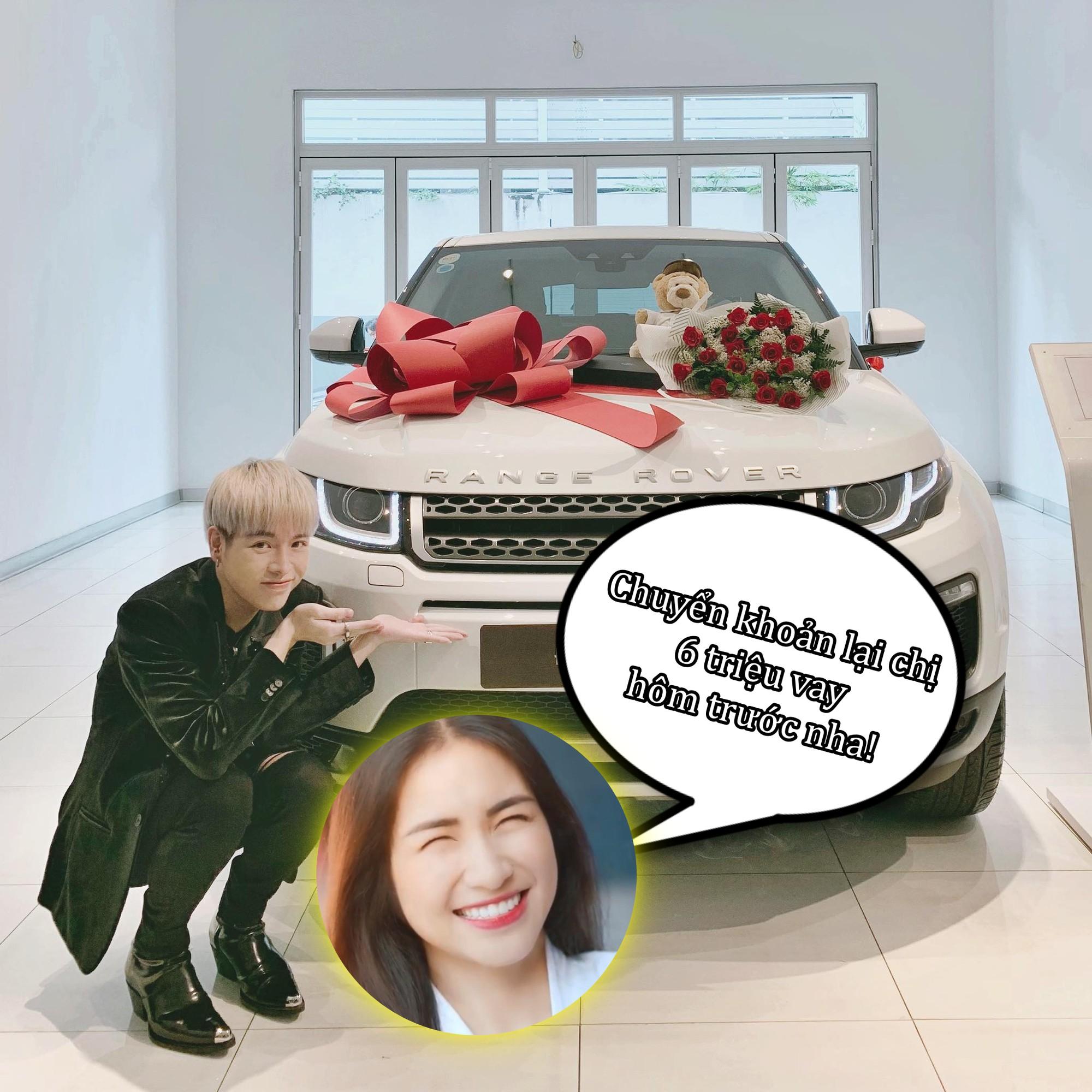 Đức Phúc vừa mới tậu xe, Hoà Minzy không đòi khao rửa xe mà vội vào... đòi nợ ngay 6 triệu!