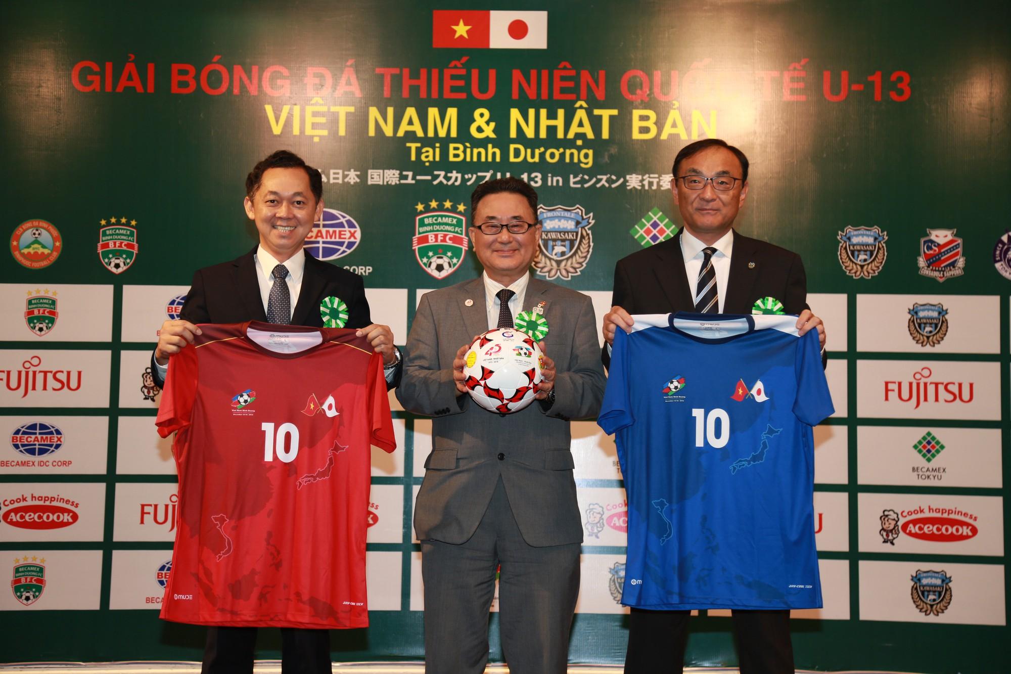 Giải bóng đá thiếu niên quốc tế U13 Việt Nam – Nhật Bản tại Bình Dương - Ảnh 1.