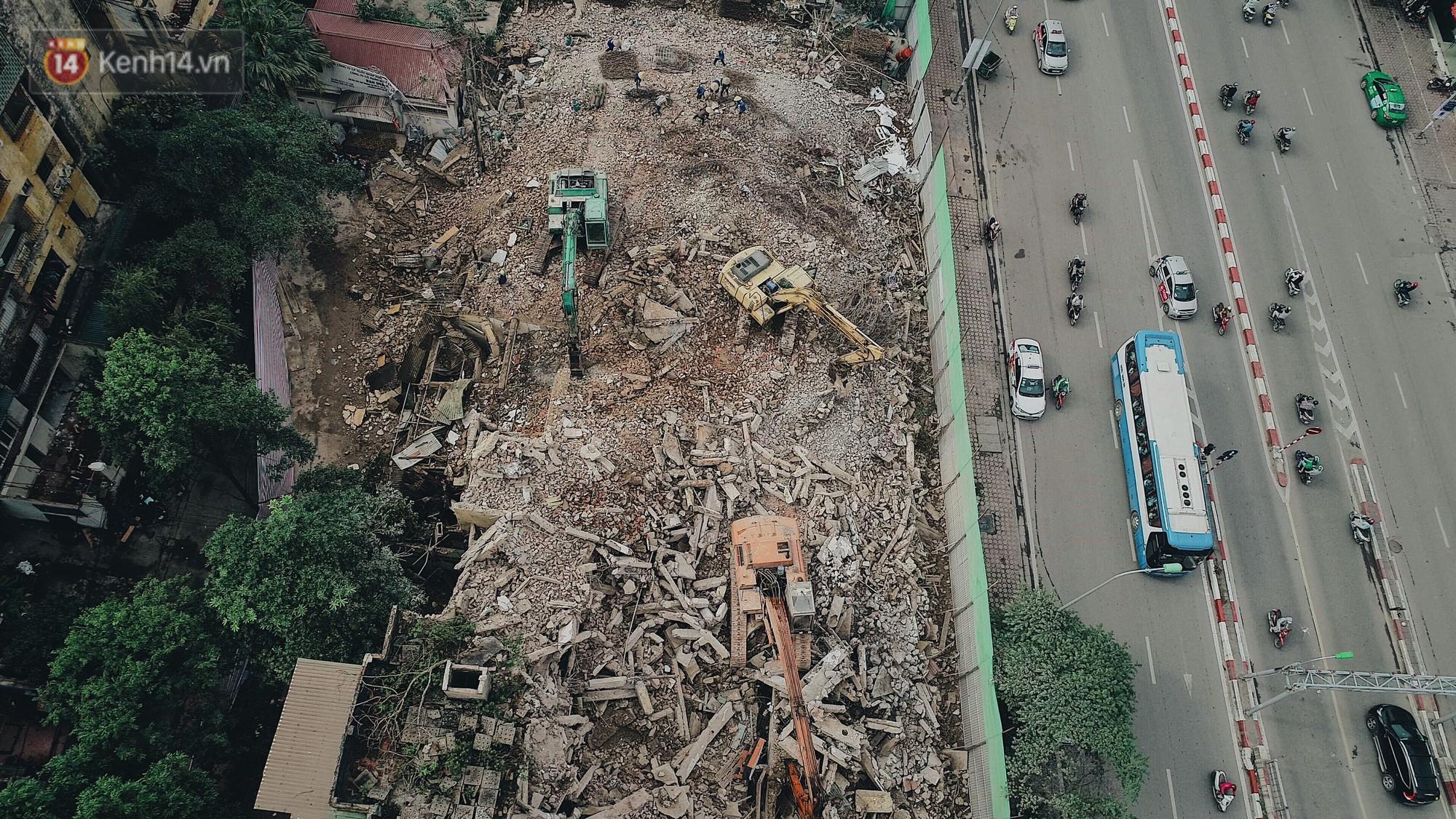 Phá dỡ khu tập thể đất vàng hơn 10 năm ngủ quên giữa trung tâm Hà Nội - Ảnh 11.