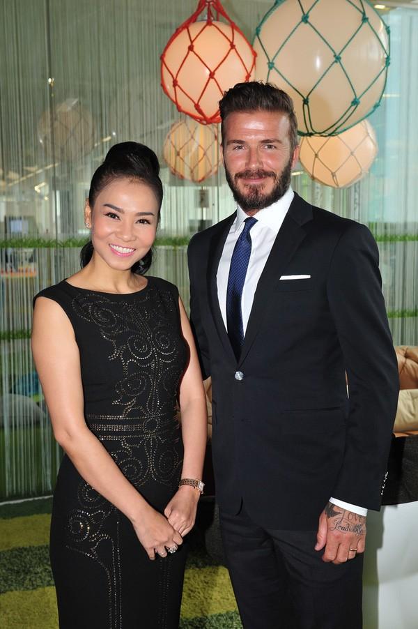 Hot girl hội Rich Kid - Thảo Tiên khoe ảnh chụp chung với David Beckham ở Singapore - Ảnh 6.