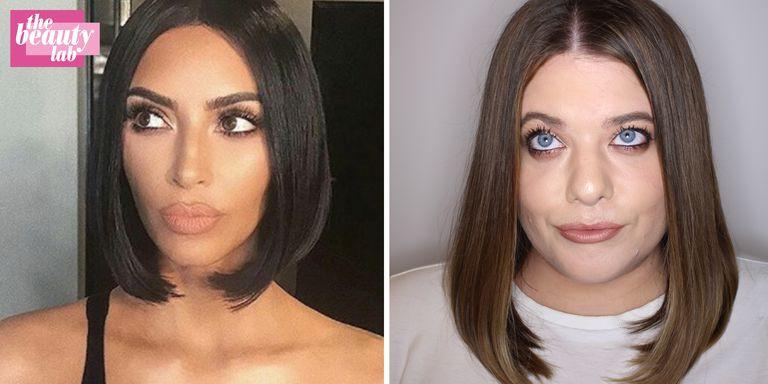 Hai cô nàng thử diện 14 kiểu tóc quằn quại của chị em nhà Kardashian trong 1 tuần và đây là cái kết - Ảnh 6.