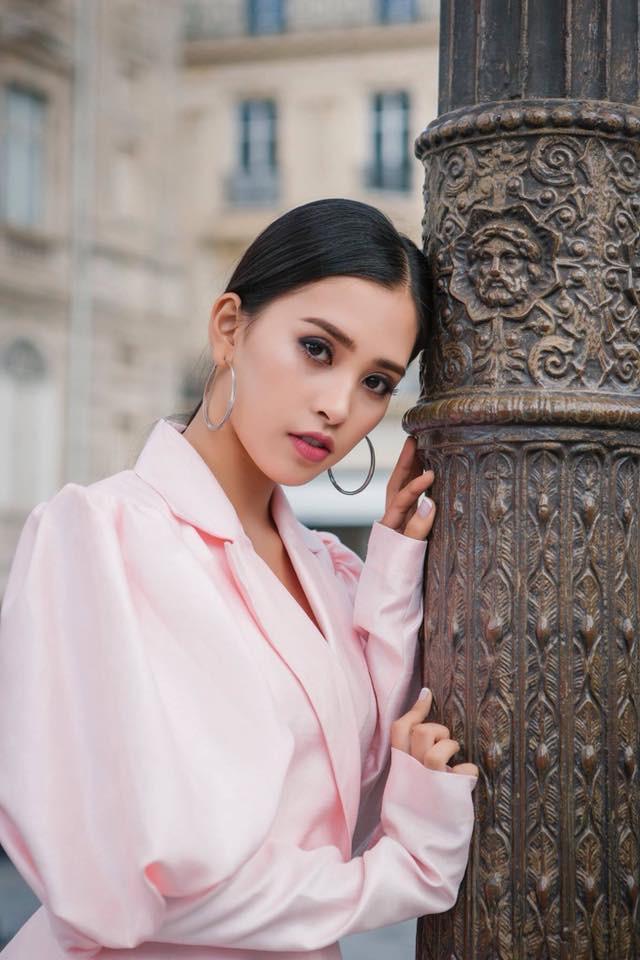 Người ta diện màu hồng dễ sến, riêng HH Tiểu Vy thì nhan sắc lại càng thăng hoa với gam màu khó chiều này - Ảnh 17.