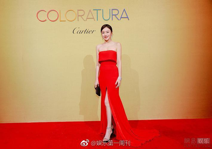 Hoàng Hậu Tần Lam khoe sắc vóc ngọc ngà, vòng 1 e ấp tại thảm đỏ sự kiện Hàn Quốc - Ảnh 5.
